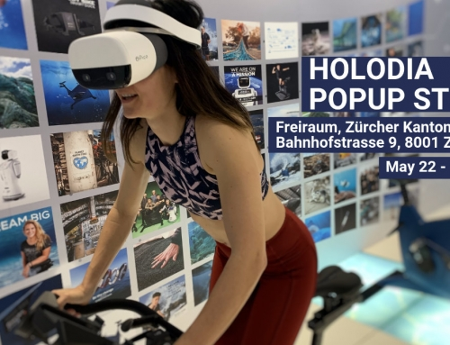 Try HOLOFIT VR Fitness & Win Great Prizes at the Holodia Popup Store in Zurich, May 22 – June 17