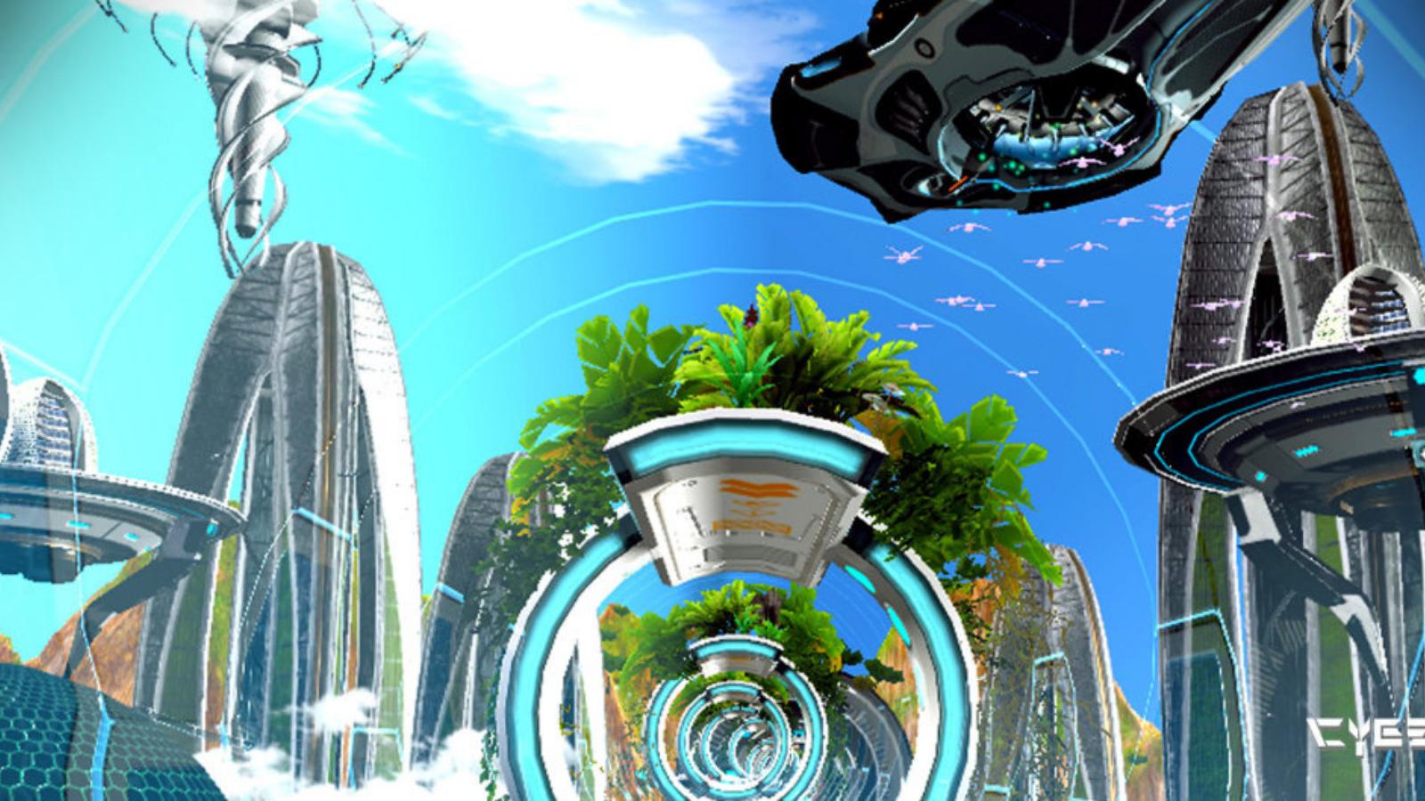 cyberpunk-holofit-virtual-reality-environment