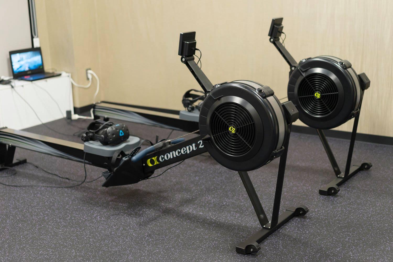 VR Fitness in GRAM Gym, Tokyo