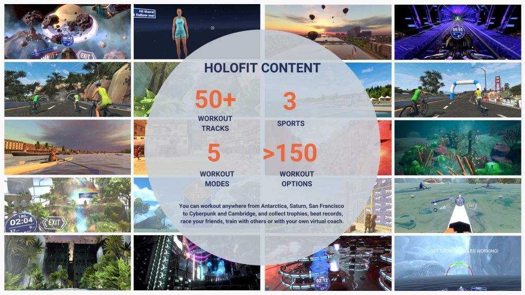 what-is-the-content-offering-on-holofit-vr-fitness