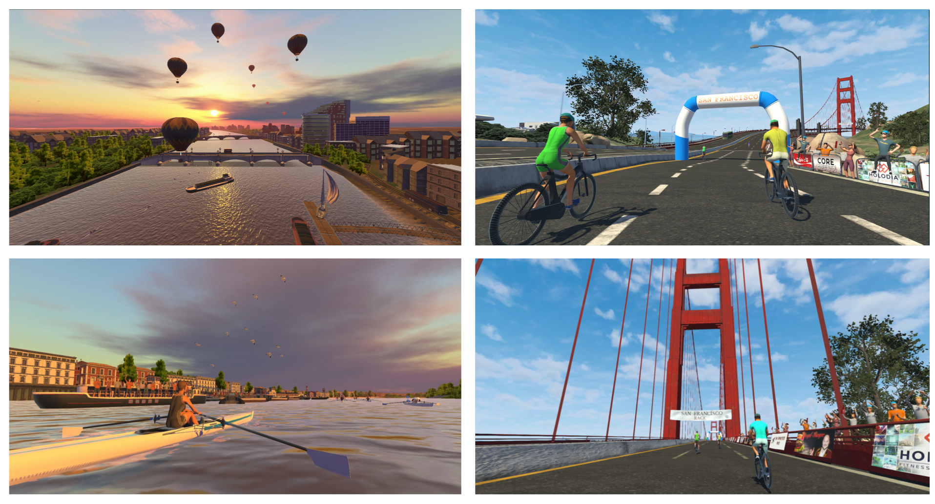 Realistic-VR-sports-environments