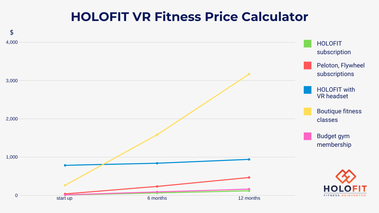 How expensive is VR Fitness?