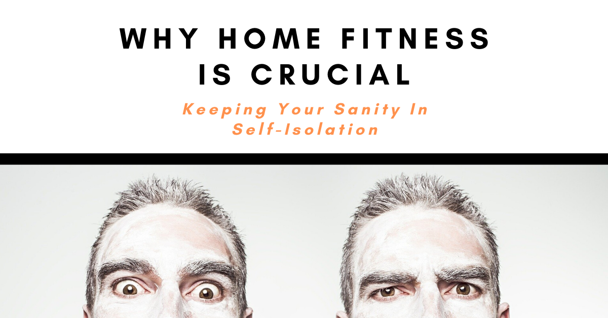 Learn how fitness helps you stay sane