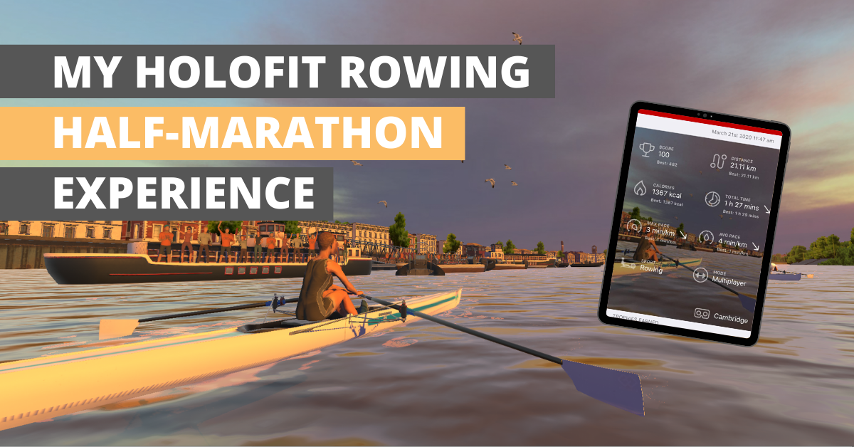 Review of HOLOFIT VR Rowing Half Marathon