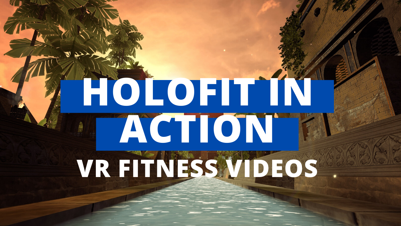 holofit vr workouts in action