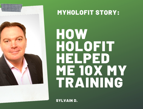 MyHOLOFIT Story: How HOLOFIT Helped Me 10x my Training and Lower my High Blood Pressure