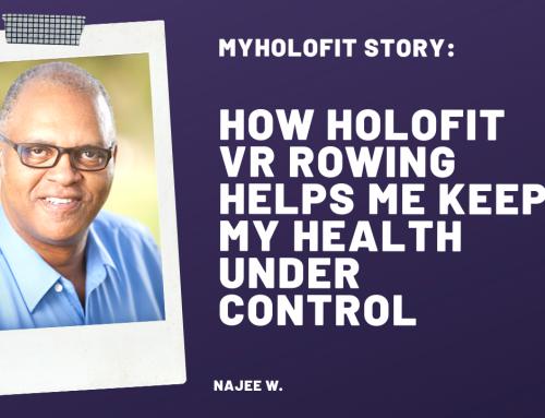 MyHOLOFIT Story: How HOLOFIT Helps Me Keep My Health Under Control