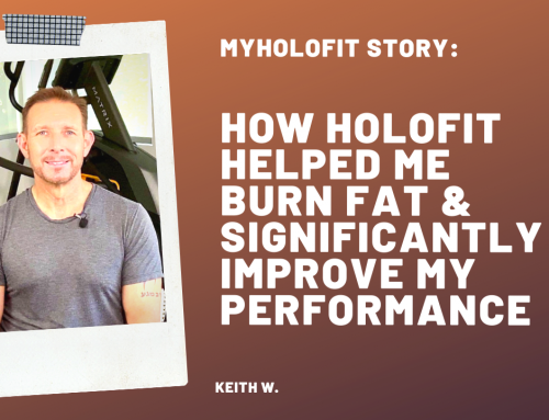MyHOLOFIT Story: How HOLOFIT on Elliptical Helped Me Burn Fat and Significantly Improve My Performance, by Keith W.