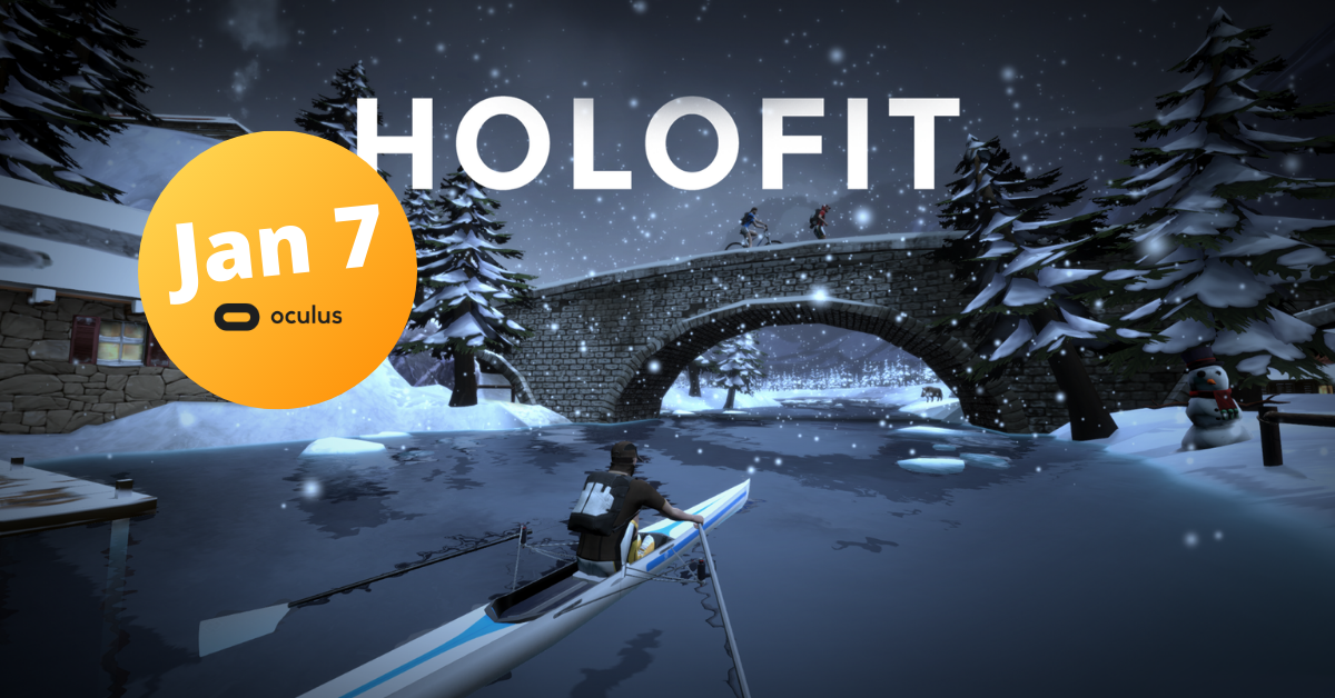 HOLOFIT VR Fitness on Oculus Quest store