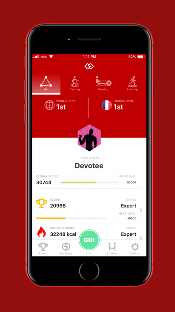 HOLOFIT-Companion-App-game-mode