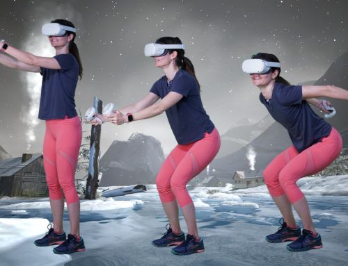 Have you tried HOLOFIT VR Skiing?