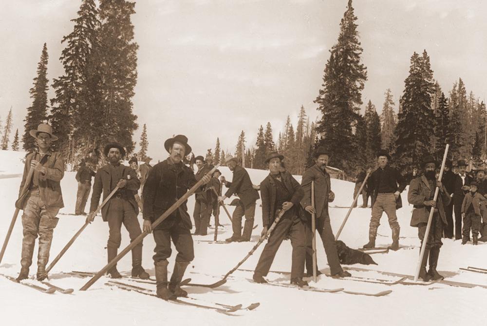ski-old photo