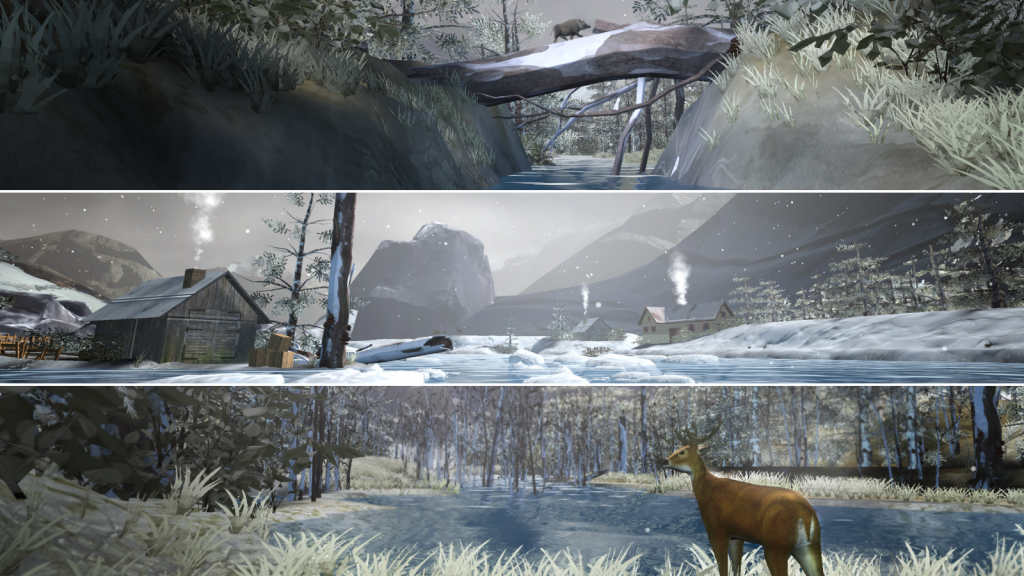 Snowy-Mountains-environment-in-HOLOFIT-by-HOLODIA