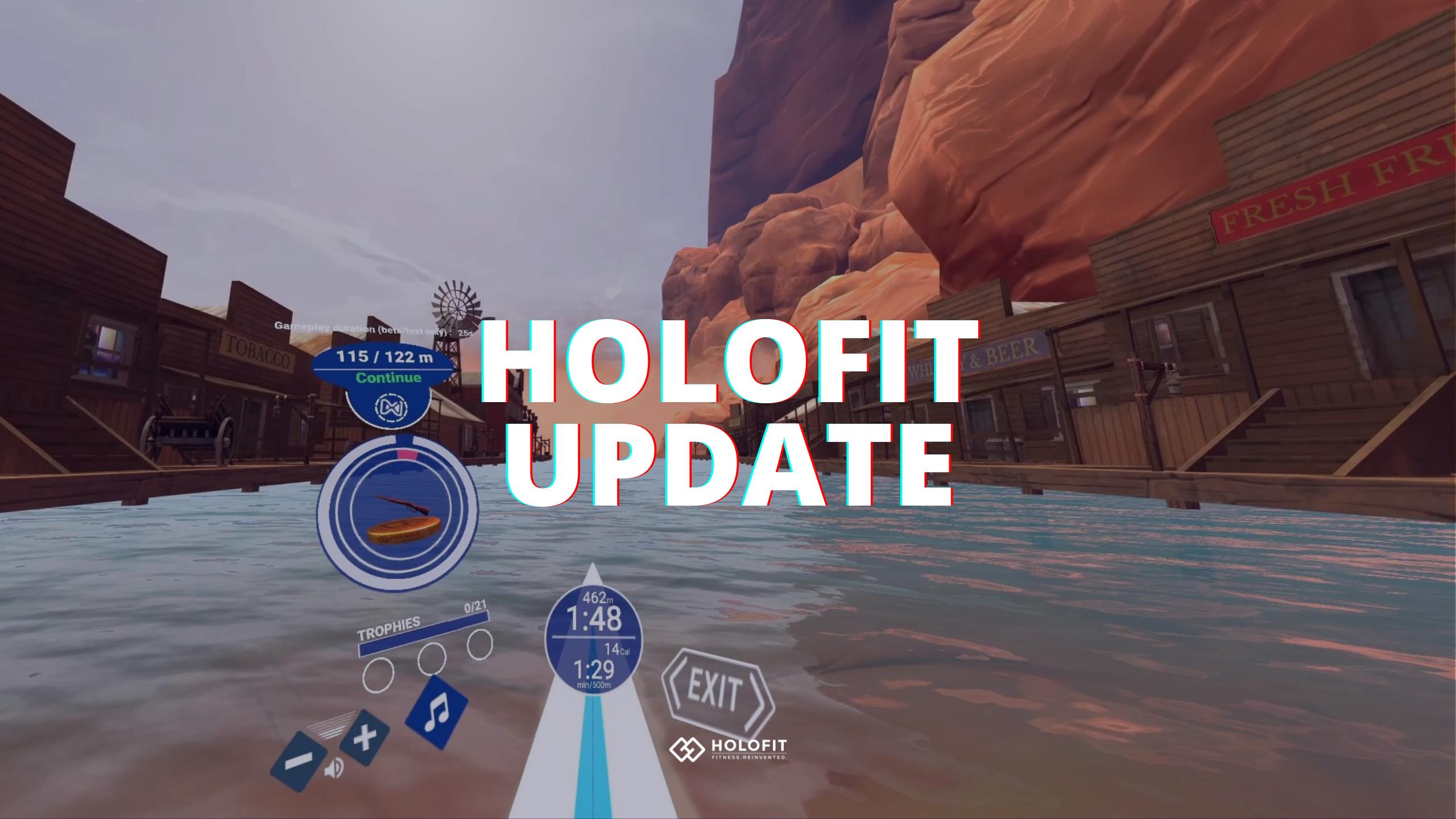 HOLOFIT July Update